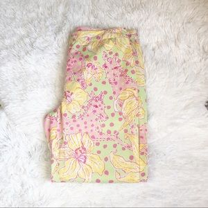Lilly Pulitzer Cropped Casual Pants